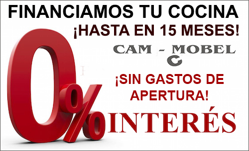 Financiación de cocinas sin intereses
